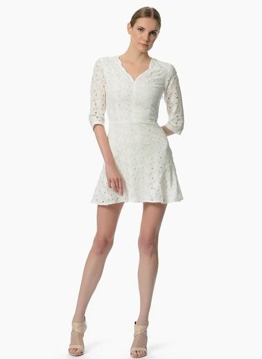 Network - Çiçekli Mini Elbise
